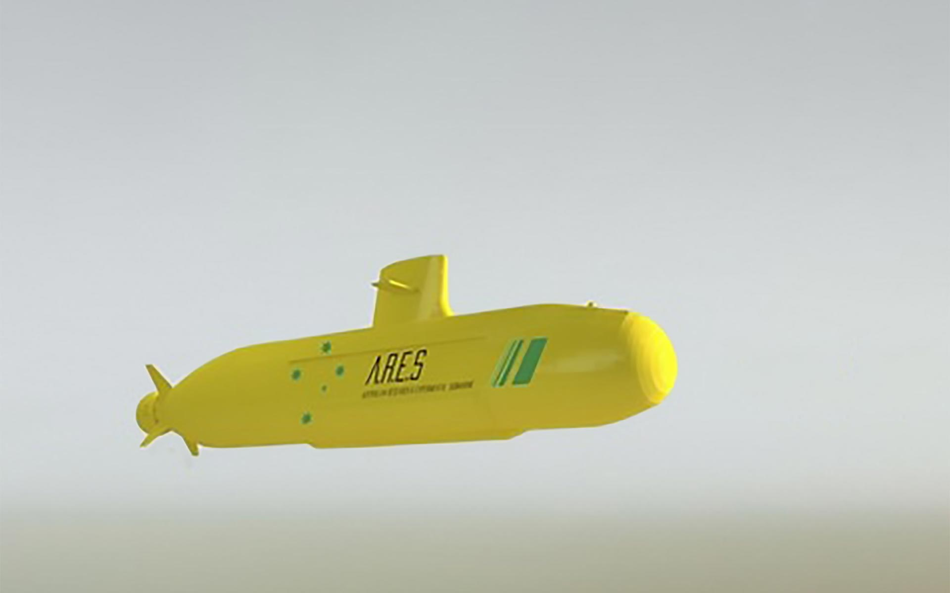 ARES Project Submarine Render